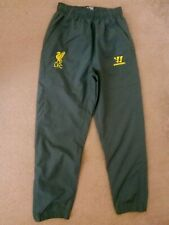 Liverpool training track bottoms pants size LB Gray colour Warrior
