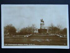 More details for ireland dublin st. stephen's green park ww2 censor passed c1941 rp postcard