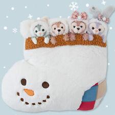 Tokyo Disney SEA Duffy Bear Friends  Cushion Gelatoni Stella Lo Christmas 2019