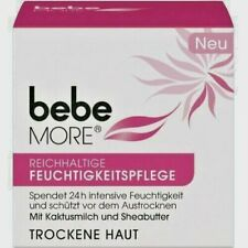 bebe More Rich moisturizer Day Cream for dry skin New from Germany