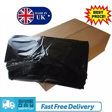 More details for extra strong heavy duty black refuse sacks bin liners rubbish waste bags 200g