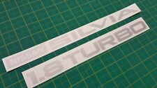 Nissan Silvia S12 Rear Decals Stickers 200SX JDM Gazelle RS RS-X Turbo 1983 1.8