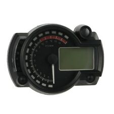 New LCD Digital Backlight Motorcycle Odometer Speedometer Tachometer MPH Gaug BT