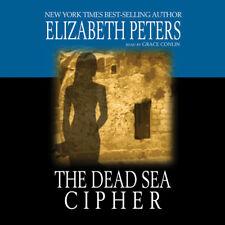 The Dead Sea Cipher by Elizabeth Peters 2013 Unabridged CD 9781470888619