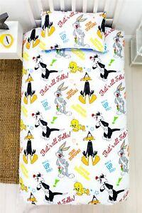 Looney Tunes Single Duvet Cover Pillowcase Set