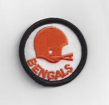 107a65a60 1970 s Cincinnati Bengals patch old two bar helmet logo ...