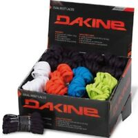 NEW DAKINE OVAL SNOWBOARD LACES 228cm 90in BLACK WHITE RED BLUE or LIME 2200304