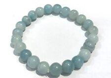 Bracelet Amazonite -  perles rondes 8mm