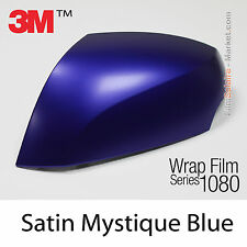 20x30cm FILM Satin Mystique Blue 3M 1080 S378 Vinyle COVERING Series Wrap