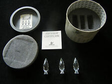 Swarovski pappel-set - with 3 Poplars - with original packaging + CERTIFICATE
