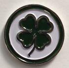 Premium Lucky Irish Clover Golf Ball Marker + Bonus!!!
