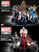EAGLEMOSS MARVEL FIGURINE COLLECTION (SPECIAL / COSMIC / FACT FILES / NEW)
