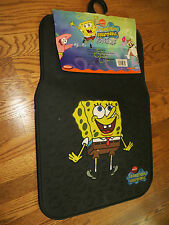 NEW 2 - PC Sponge Bob Squarepants Floor Mat Set Spongebob