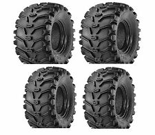 Set of 4 KENDA K299 Bear Claw 25x8-12 Front 25x10-12 Rear ATV Tires