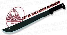 """Condor 18"""" El Salvador Machete Carbon Steel with Leather Sheath CTK2020HC"""