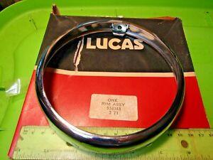 Montesa King Scorpion 250 Lucas Headlight Ring p/n LU. 534343 NOS 44M 1972-1976