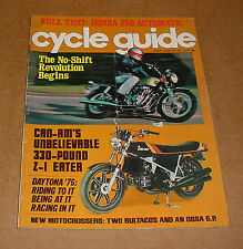 6/1976 Cycle Guide Magazine