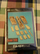 Aires 1/48 f/a 18 hornet numero 4235 wheel bays for hasegawa kit