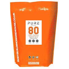 100% Pura % Premium Proteína de suero leche en Polvo Bebida - 1kg (Galletas Y
