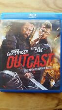 Outcast (Blu-ray Disc, 2015) Former Rental Great Condition