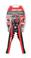 Dekton Pro Self-Adjustable Automatic Cable Wire Crimper Crimping Tool Stripper