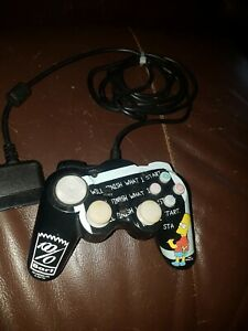 Bart Simpson PLAYSTATION PS2 WIRED MINI CONTROLLER  Tested Fully Working