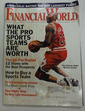 Financial World Magazine Michael Jordan & All Pro Roster May 1996 062515R