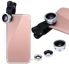 VODOOL 3 in1 Fish Eye+ Wide Angle + Macro Camera Clip-on Lens for Cell Phones