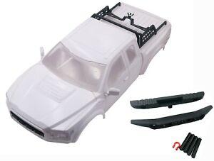 KYX  ABS Raptor Hard Body Kit for 324mm Traxxas TRX-4 Land Rover Defender White