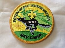 Boy Cub Scout Greenwich Council 2008 Camp Seton Cub Scout Day Camp Patch