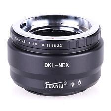 DKL-NEX Adapter For Retina DKL Voigtlander Deckel Lens to Sony E NEX A7 2 Camera