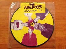 THE METROS - 2007 Picture disc Vinyl 45rpm 7-Single -.EDUCATION PT.2