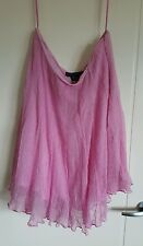 BNWT Ralph Lauren Ladies 100% Silk Skirt, size US 12, colour pink