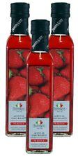 Erdbeeressig - Weißweinessig mit Aroma - aus Italien - TrentinAcetia - 3x250 ml
