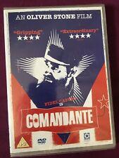 Comandante DVD, 2003 Fidel Castro Oliver Stone Documentary UK Region 2 New