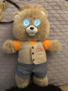 2017 Teddy Ruxpin Plush Talking Bear Animated Bluetooth Compatible