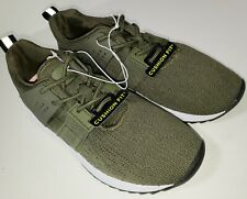Champion Womens Running Shoe Women's Knit Sneaker EDGE Olive Size 7 Cushion Fit