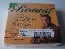 Ronny - Seine Grössten Erfolge (3-CD)  eingeschweißt K3