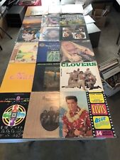 CLASSIC ROCK VINYL 33 RPM RECORDS LOT (20) LP'S GREAT ARTISTS COLLECTION