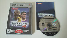 PRO EVOLUTION SOCCER 4 - PES 4 - SONY PLAYSTATION 2 - JEU PS2 PLATINUM COMPLET