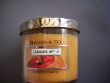 Slatkin/Bath and Body Works Caramel Apple 4 oz. Candle