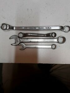 """4 Indestro Super Select Wrenches 1/2"""" - 3/4"""" box Combination"""