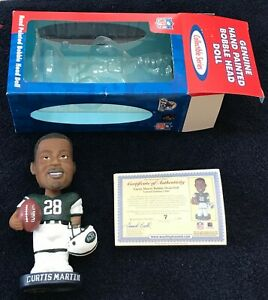 CURTIS MARTIN NFL Bobble Dobbles IN BOX Limited #7 out of 1000 Collectible serie
