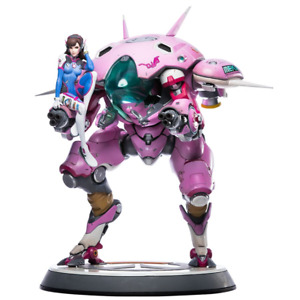 "NEW - Blizzard Overwatch D.VA Tokki Mech Statue Figure 20.25"" Tall - Blizzard"