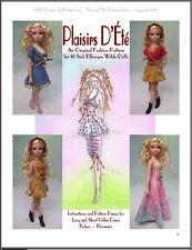 """Plaisirs D'Été"" Fashion Pattern for Ellowyne Wilde"