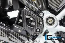 Ilmberger GLOSS Carbon Fibre Heel Guard Plate Set Pair BMW R1250 GS 2020