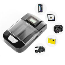 Universal DC 12V Car/AC Wall/USB Battery Charger for Smart-Phones PDAs Camera