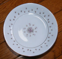 """Set of 4 Nikko Seyei JAPAN Fine China Normandy 460 5.5""""  Berry Bowls Rose Floral"""