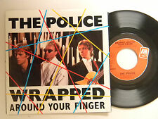 Police 45 w/ps WRAPPED AROUND YOUR FINGER / TEA IN THE SAHARA (live) ~ A&M VG++