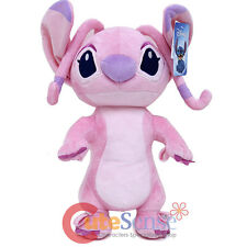 "Disney Lilo and Stitch Angel Plush Doll Pink 16"" Soft Toy Cushion Backpack"